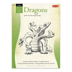 WALTER FOSTER HOW TO 295 DRAW DRAGONS