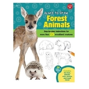 WALTER FOSTER TO DRAW FOREST ANIMALS