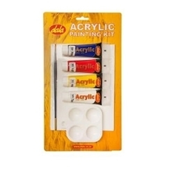 DALA ACRYLIC PAINT SET 4 X 30ML