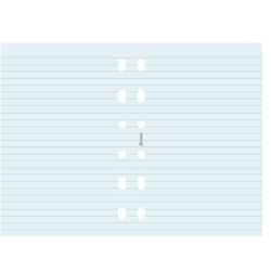 Picture of FILOFAX UNDATED POCKET BLUE RULED NOTEPAPER