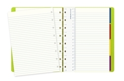 Picture of FILOFAX NOTEBOOK A5 SAFFIANO RULED GOLD
