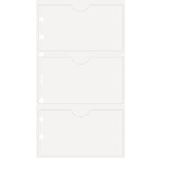 Picture of FILOFAX UNDATED PERSONAL BUSINESS CARD HOLDER DOUBLE SIDED