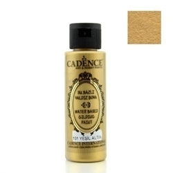 Picture of CADENCE GILDING PAINT GREEN GOLD 70ML