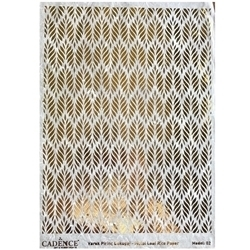 Picture of CADENCE METAL LEAF RICE PAPER R/GOLD#02