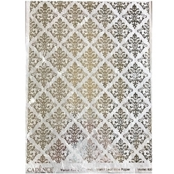 Picture of CADENCE METAL LEAF RICE PAPER SILVER#20