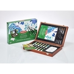 ACADEMY WATER COLOR WOODEN BOX