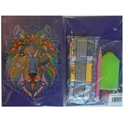 Picture of DIAMOND DOT ART WOLF NOTE BOOK